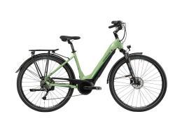 City Bike Elettrica Lombardo Montecatini 7.0 28 9V Verde Nero