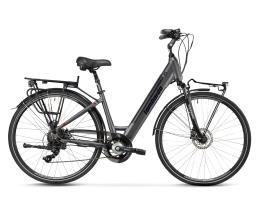 City Bike Elettrica Lombardo Trastevere 28 7V Titanio