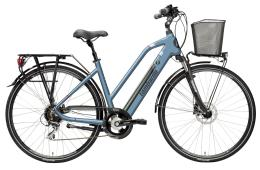 City Bike Elettrica Lombardo Viterbo Donna 28 21V Viola