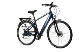 City Bike Elettrica Lombardo Viterbo Uomo 28 21V Blu