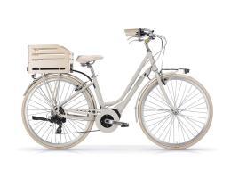 City Bike Elettrica MBM Apostrophe 28 Donna Sabbia