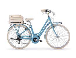 City Bike Elettrica MBM Apostrophe 28 Donna Sky