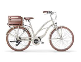 City Bike Elettrica MBM Maui 26 Donna 11.6Ah 418Wh Verde