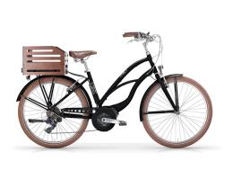 City Bike Elettrica MBM Maui 26 Donna 7V Oli Move Nera