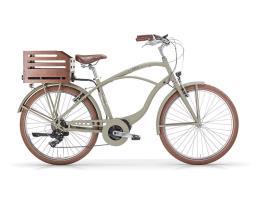 City Bike Elettrica MBM Maui 26 Uomo 11.6 Ah 418 Wh Verde