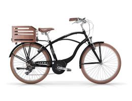 City Bike Elettrica MBM Maui 26 Uomo 7V Oli Move Nero