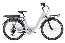 City Bike Elettrica Montana Ayda 28 TY300 6V Bianco