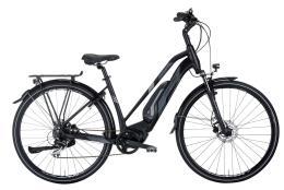 City Bike Elettrica Montana E-Jet Donna Inter 5 Nero