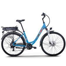 City Bike Elettrica NCX Ipanema Navy 28 250W 36V Blu Navy
