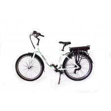 City Bike Elettrica Reset Milady19 26 7V 250W Bianco