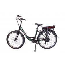 City Bike Elettrica Reset Milady19 26 7V 250W Nero Opaco