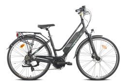 City Bike Elettrica Torpado Era 28 Donna TX800 250W Nero