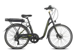 City Bike Elettrica Torpado Gaia 7V 250W Nera