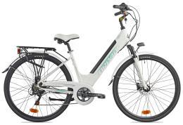 City Bike Elettrica Torpado Venere 28 36V 13AH Bianca