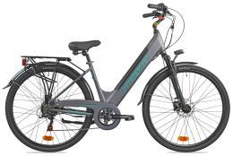 City Bike Elettrica Torpado Venere 28 36V 13AH Grigia