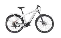 City Bike Elettrica Trekking Bianchi E Omnia T Type Man Deore 10V Bianca