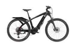 City Bike Elettrica Trekking Bianchi E Omnia T Type Man XT 12V Nera