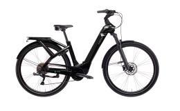 City Bike Elettrica Trekking Bianchi E-Ominia C Type 10V Nera