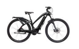 City Bike Elettrica Trekking Bianchi T Type Lady 5V Nexus Nera