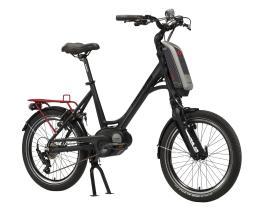 City Bike Elettrica Trekking Lombardo Mia Sport 20 7V Nero