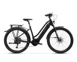 City Bike Elettrica Trekking Lombardo Roma 9.5 27.5 Donna Nero