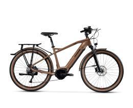 City Bike Elettrica Trekking Lombardo Roma 9.5 27.5 Uomo Marrone