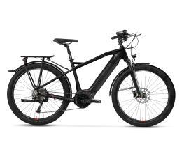 City Bike Elettrica Trekking Lombardo Roma 9.5 27.5 Uomo Nero