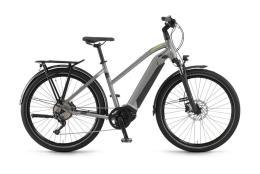 City Bike Elettrica Trekking Winora Sinus iX10 Donna 27.5 10V