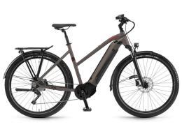 City Bike Elettrica Trekking Winora Sinus iX12 Donna 12V Xt