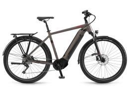 City Bike Elettrica Trekking Winora Sinus iX12 Uomo 12V Xt