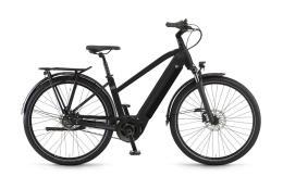 City Bike Elettrica Trekking Winora Sinus R8f Donna 28 8V Verde