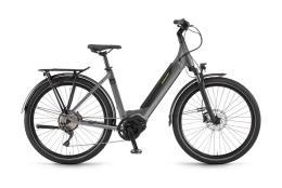 City Bike Elettrica Trekking Winora Sinux iX10 Monotubo 27.5 10V
