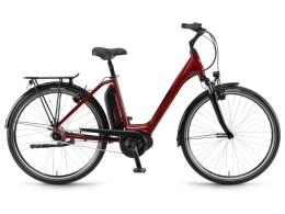 City Bike Elettrica Winora Sima N7 500 Plus 26 Rossa