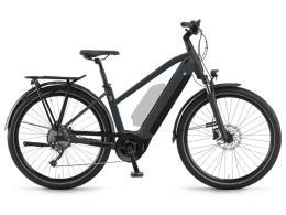 City Bike Elettrica Winora Sinus 9 Donna 27.5 Grigio