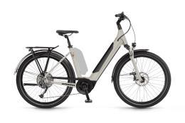 City Bike Elettrica Winora Sinus 9 Unisex 27.5 Bianco