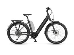City Bike Elettrica Winora Sinus 9 Unisex 27.5 Grigio