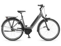 City Bike Elettrica Winora Sinus iN8 Unisex 28 Grigio