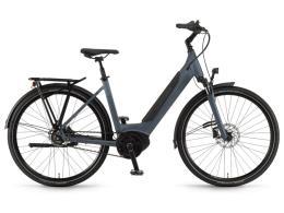 City Bike Elettrica Winora Sinus iR8 28 Unisex 8V Blu