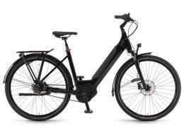 City Bike Elettrica Winora Sinus iR8f 28 Unisex 8V Onyx Nero
