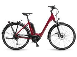 City Bike Elettrica Winora Tria 9 Monotubo 28 9V Alivio