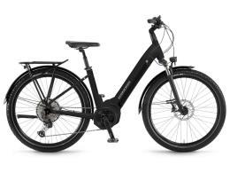 City Bike Elettrica Winora Yucatan 12 Pro 27.5 Unisex Nero