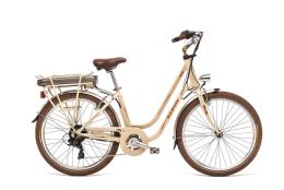 City Bike Elettrica World Dimension Rose 26 7V 250W