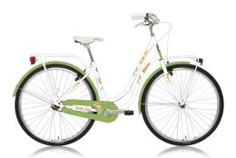 City Bike Legano Fenicottero Donna 28 1V Bianco Verde