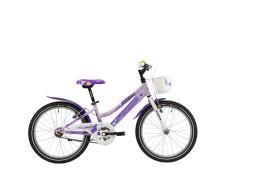 City Bike Lombardo Cremona 20 1V Lilla Fucsia Lucido
