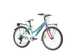 City Bike Lombardo Panarea 24 City 6V Zucchero Fucsia Lucido