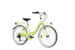 City Bike Lombardo Rimini 24 6V Limone Verde Lucido
