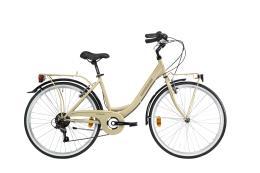 City Bike Lombardo Rimini 26 6V Avorio Opaco