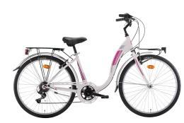 City Bike Montana Liberty 26 Hi-Ten 7V Revo Bianco