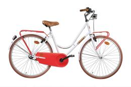 City Bike Montana Sport Donna 26 1V Bianco Fragola