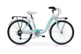 City Bike SpeedCross Fashion 26 1V Bianco Tiffany immagine illustrativa